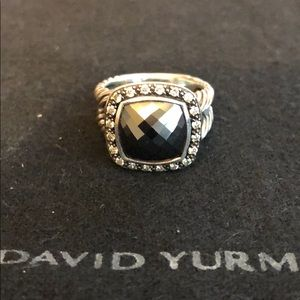 David Yurman Hematite Albion Midnight Melange Ring